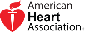 Logo Recognizing Brian K. Mitchell's affiliation with the American Heart Association