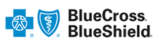 Logo Recognizing Brian K. Mitchell's affiliation with Blue Cross and Blue Shield