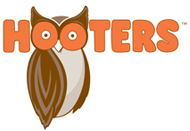 Logo Recognizing Brian K. Mitchell's affiliation with Hooters